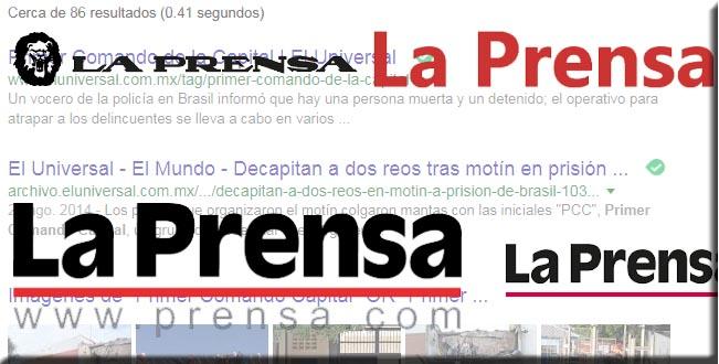 Mexico - PCC 1533 la prensa