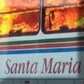 Santa Maria fogo em ônibus
