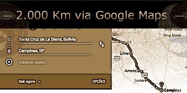 acompanhando a entrega da droga via google maps