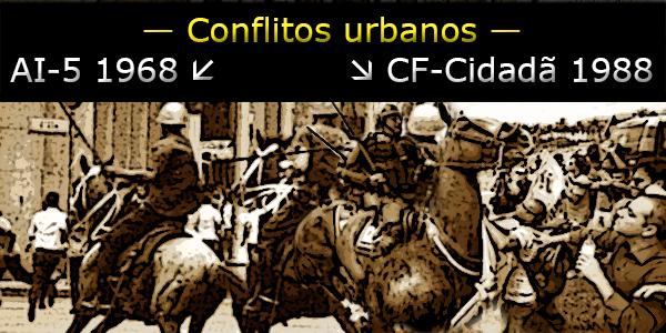 Conflitos urbanos regime militar e constituição cidadã