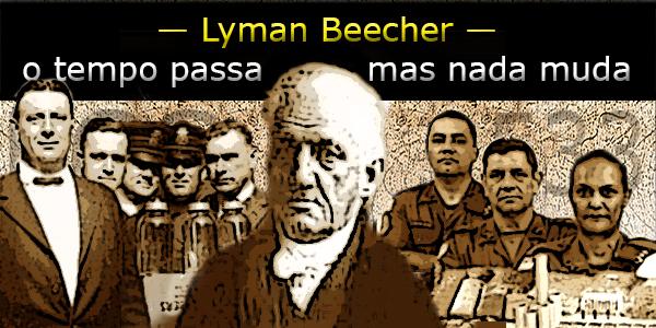 pastor Lyman Beecher álcool e drogas