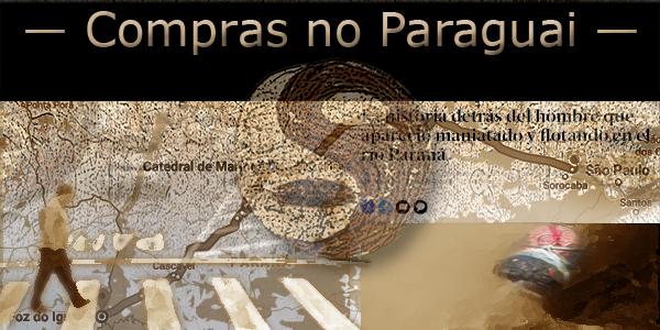 Compras de armas e drogas no Paraguai PCC