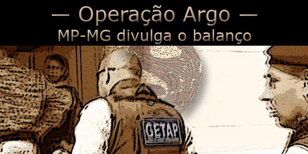 Operação Argo em Minas Gerais