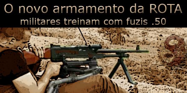 armamento militar para a ROTA