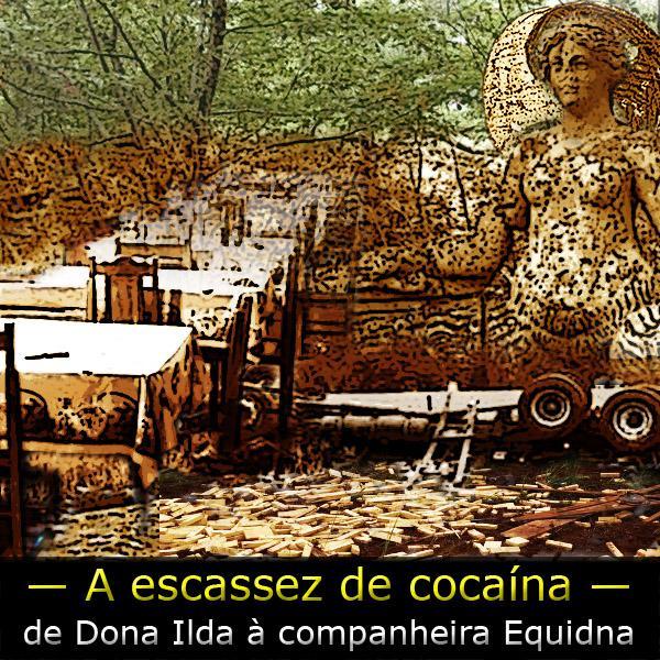 Falta cocaína no varejo – causas e consequências