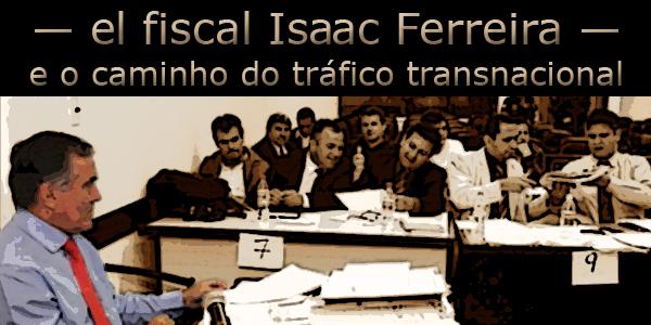 El fiscal Isaac Ferreira  em audiência.