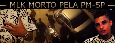 Arte sobre foto de um garoto morto pela Polícia Militar de São Paulo