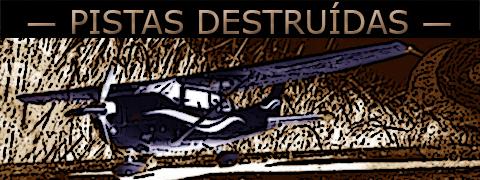 arte sobre imagem de avião pousando em um campo clandestino do Paraguai