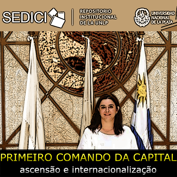 arte sobre foto da professora Carolina Sampó