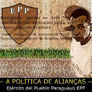 Arte sobre foto de Marcola e o brasão do EPP