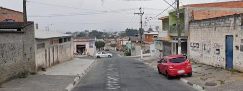 foto rua Presidente Rodrigues Alves em Poá