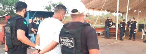 Foto de prisão de membros do PCP RO