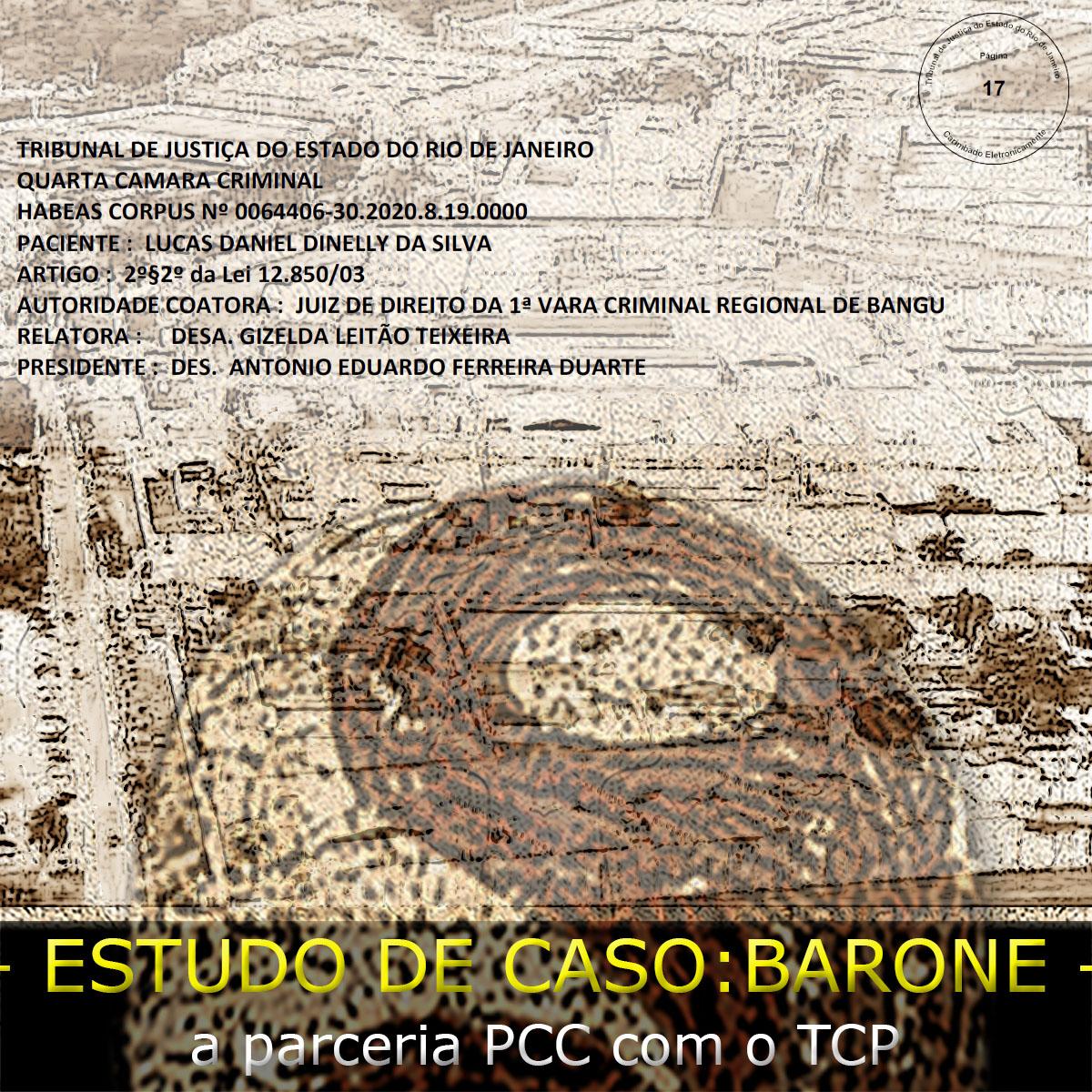 Um flash sobre a expansão do PCC no Rio deJaneiro