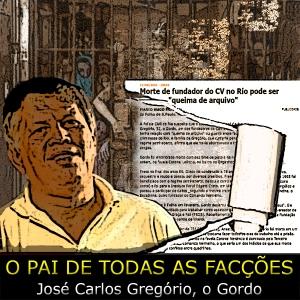 arte sobre foto de José Carlos Gregório da Falange Vermelha