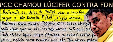 Lúcifer é contratado pela facção PCC para matar líder da Família do Norte, o Zé Roberto da Compensa