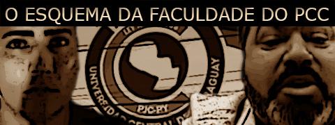 Carterinha de estudante da Universidad Central del Paraguay era o salvo conduto dos PCC para entrar no país