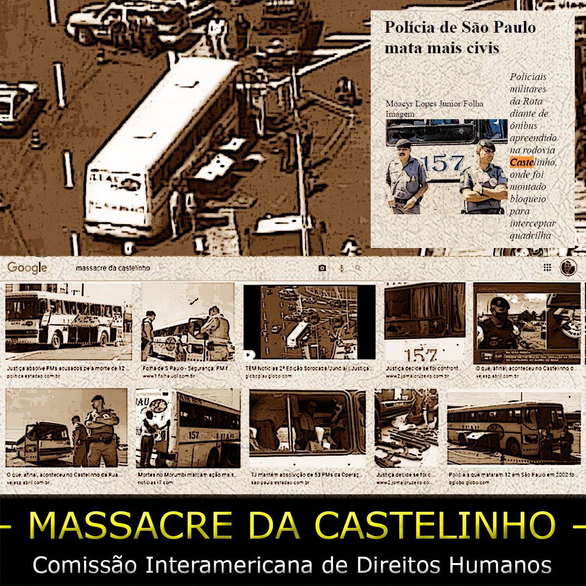O caso do massacre da Castelinho vai para a CIDH