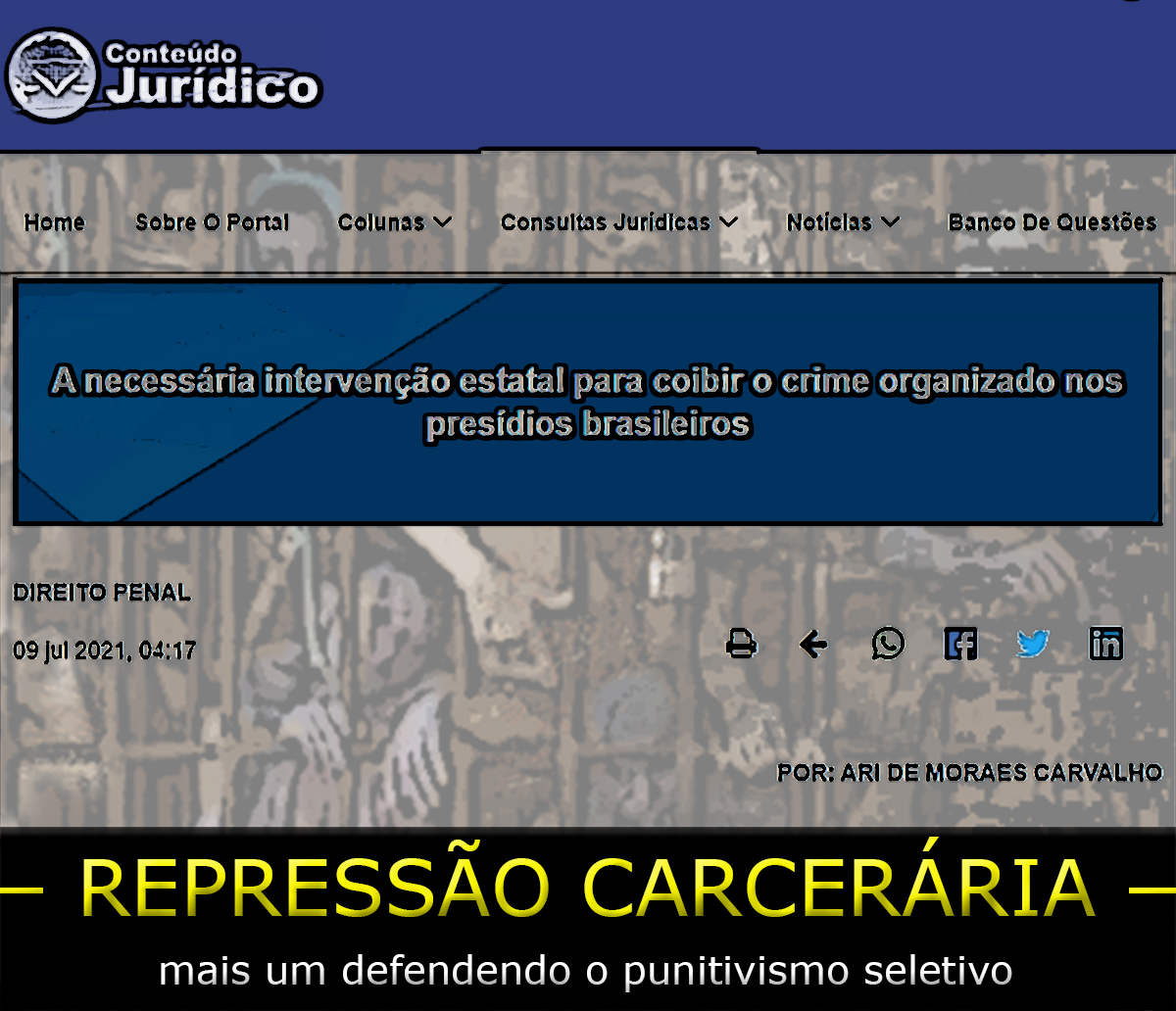 Ari de Morais Carvalho descobre a roda